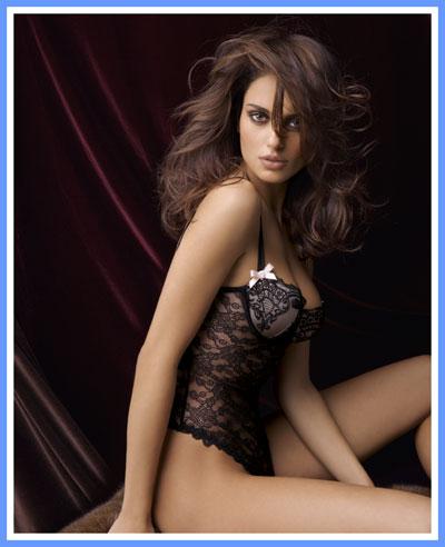 Lise Charmel Paris Frivole Guepiere :  lingerie black designer lingerie bustier