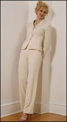 Bluesuits Camel Tropical Wool suit
