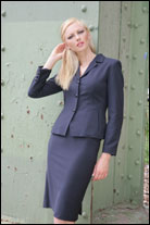 Bluesuits Tropical Wool navy Suit