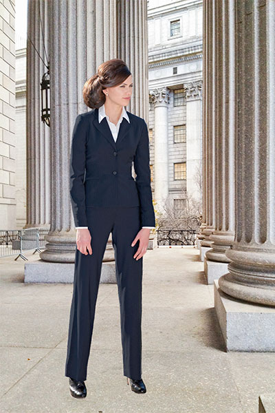 Bluesuits Hepburn Jacket and fly-front Business Pants