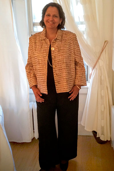 Bluesuits Bespoke Custom Wool Pants for Plus Size Women