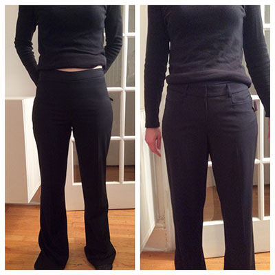 Bluesusits Pants for wide hips-small waist