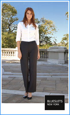 Bluesuits Wide Leg Pants for women with wide hips