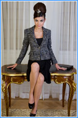 Bluesuits Tweed Executive womens suit