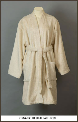 Organic Turkish Terry Robe
