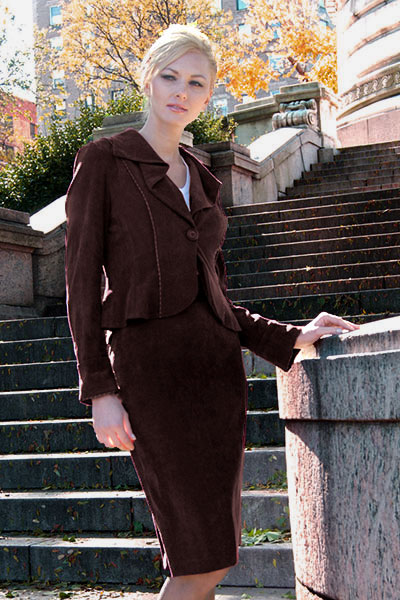 Bluesuits Chocolate Barbara Jacket