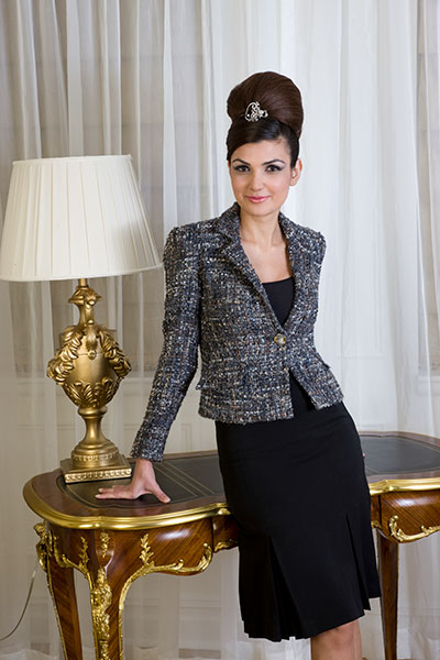 Bluesuits Tweed Sophia Jacket