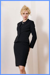 Bluesuits Business suit for women-Tab-Jacket and shift dress