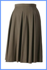 Bluesuits Cotton Easy PLeated Skirt